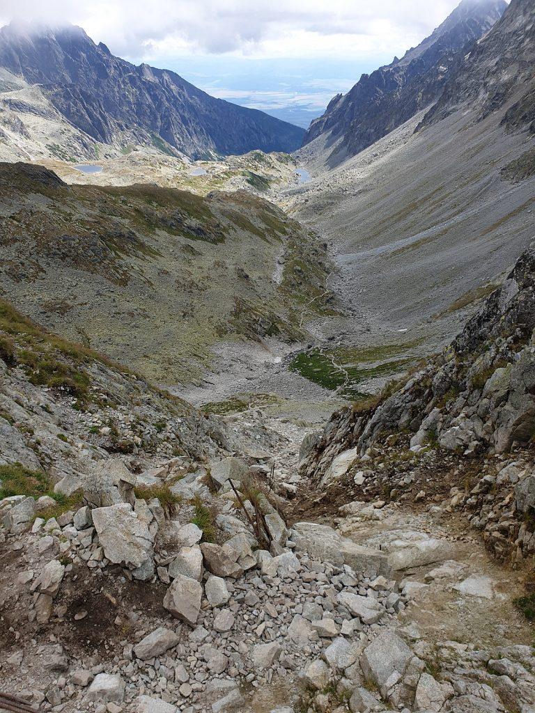 Pohľad z Prielomu do Veľkej Studenej doliny