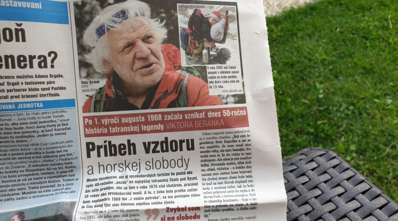 Viktor Beránek v dnešnom Športe