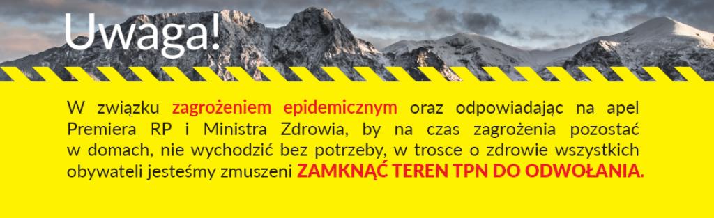 Poľské Tatry sú zavreté