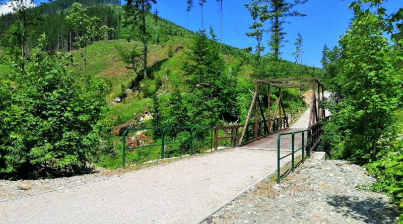 Cyklotrasa Tatranská Kotlina - Ždiar