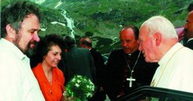 Ján Pavol II. na Sliezskom dome