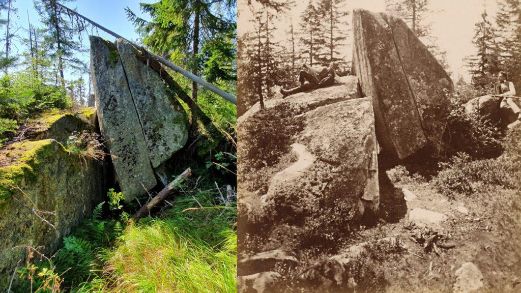 Zbojnícka skala dnes a v minulosti