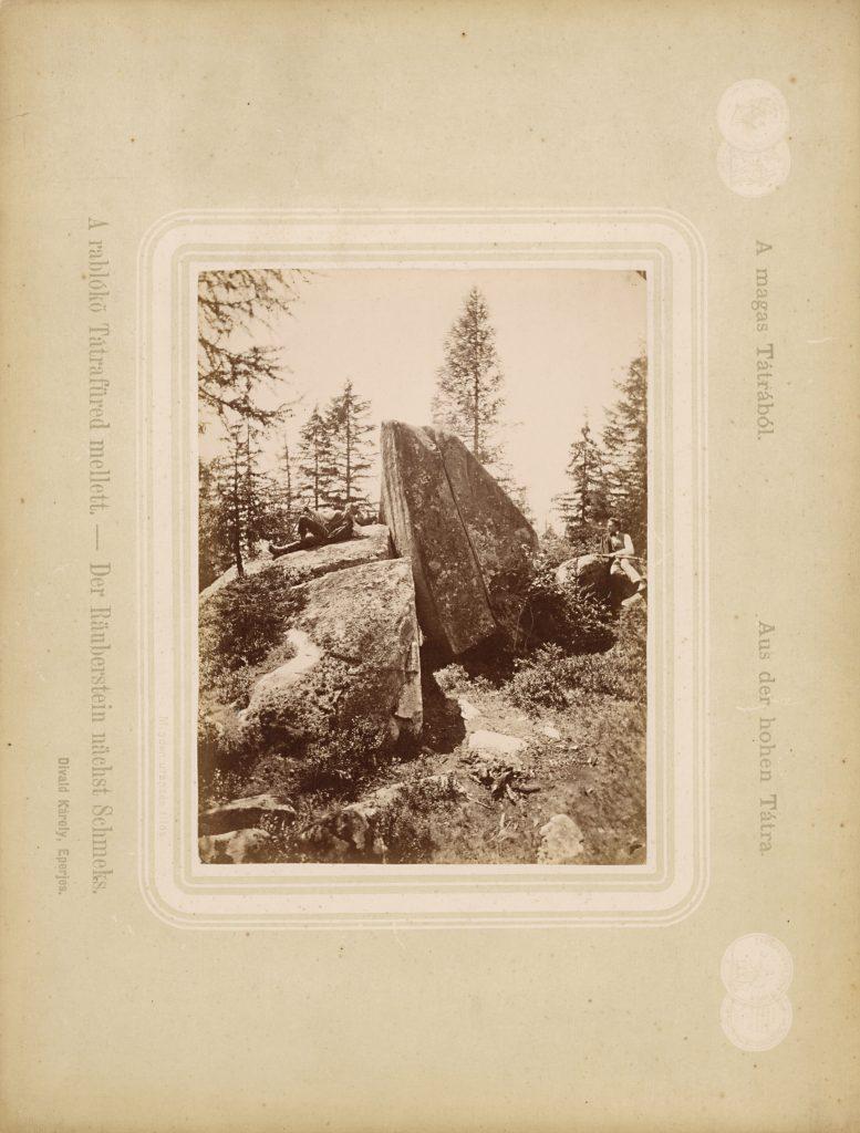 Zbojnícka skala - Karol Divald