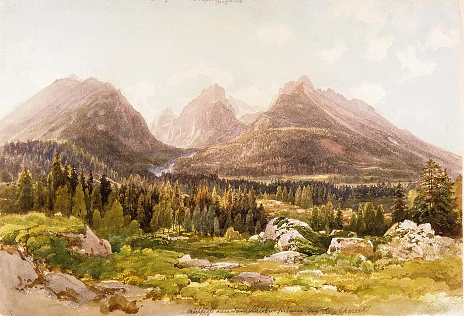 Zbojnícka skala - maľba
