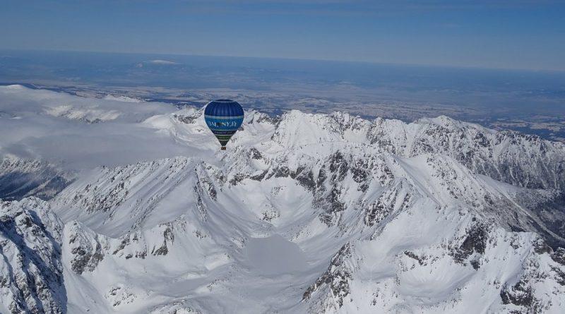 Let balónom ponad Vysoké Tatry